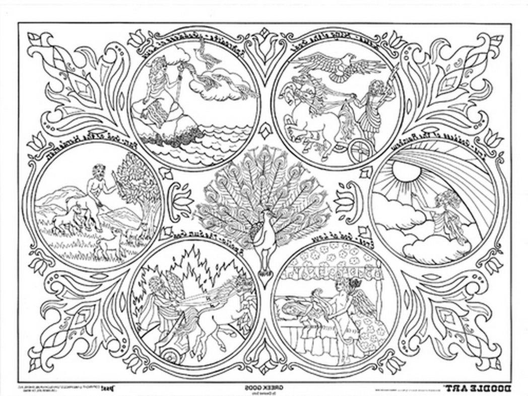 Uncategorized Free Printable Doodle Art Coloring Pages coloring poster doodle art greek gods 298636 jpg pages