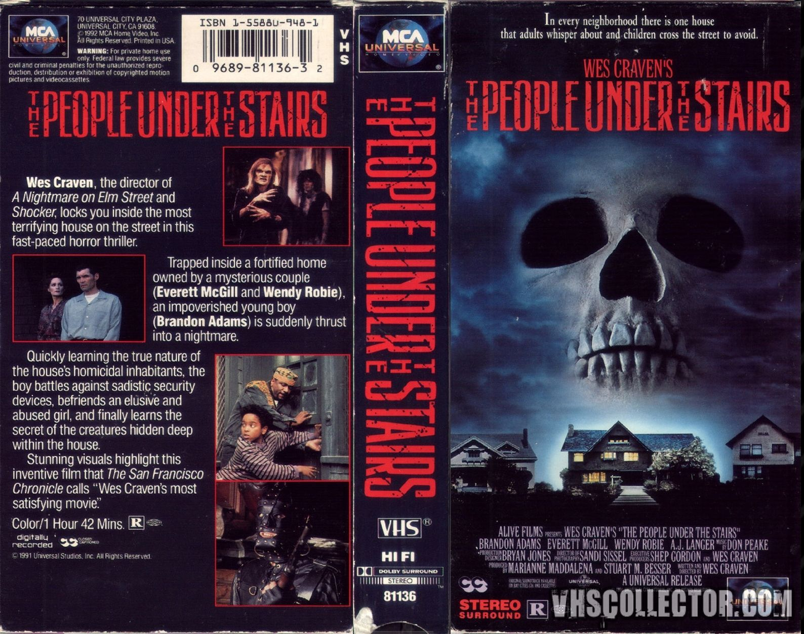 The People Under The Stairs Horror Movie
