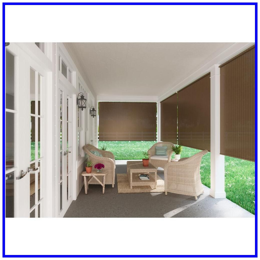 77 Reference Of Roller Blind Outdoor In 2020 Exterior Roller Shade Patio Blinds Outdoor Shade