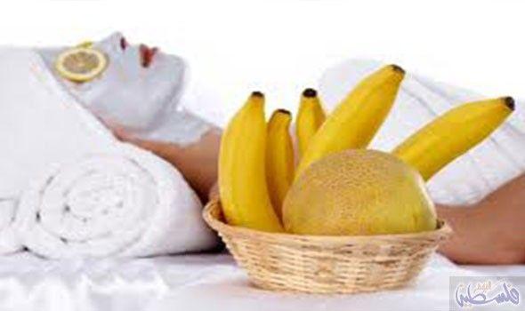 ماسك الموز وزيت الزيتون للشعر Banana Facial Homemade Face Pack Mask For Dry Skin