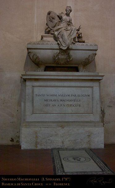 TUMBA DE Machiavelli_SantaCroce_                FLORENCIA
