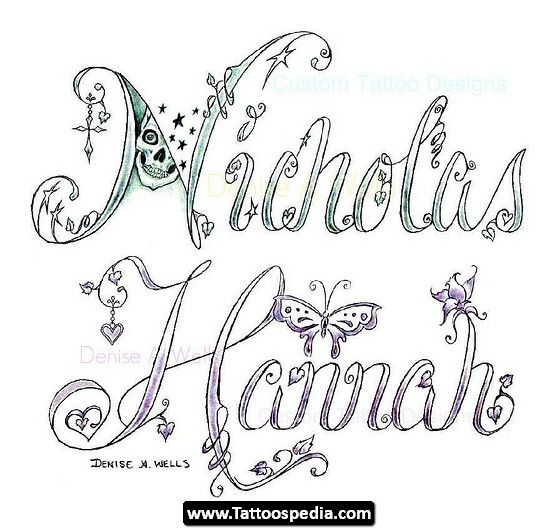 name20tattoo20designs 02 name tattoo design idea designs 02 - Design Names Ideas