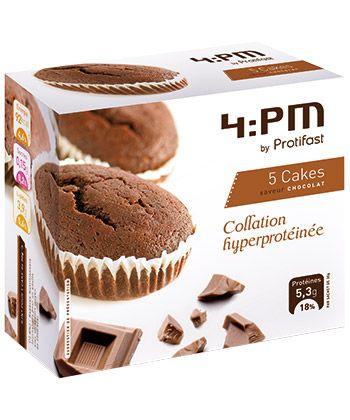 Cake chocolaté riche en protéines