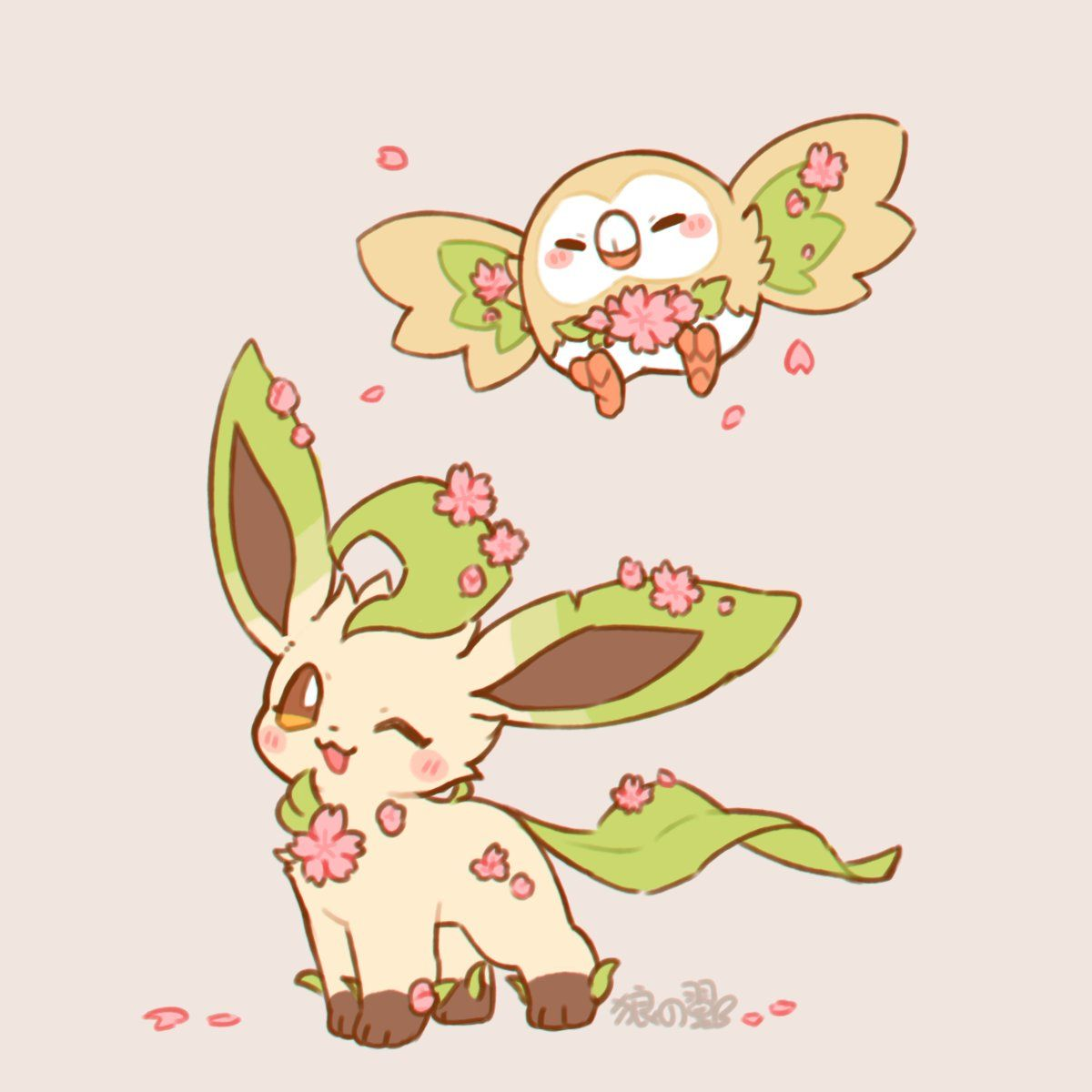 Leafeon Cute Pokemon Wallpaper Pokemon Eeveelutions Baby Pokemon