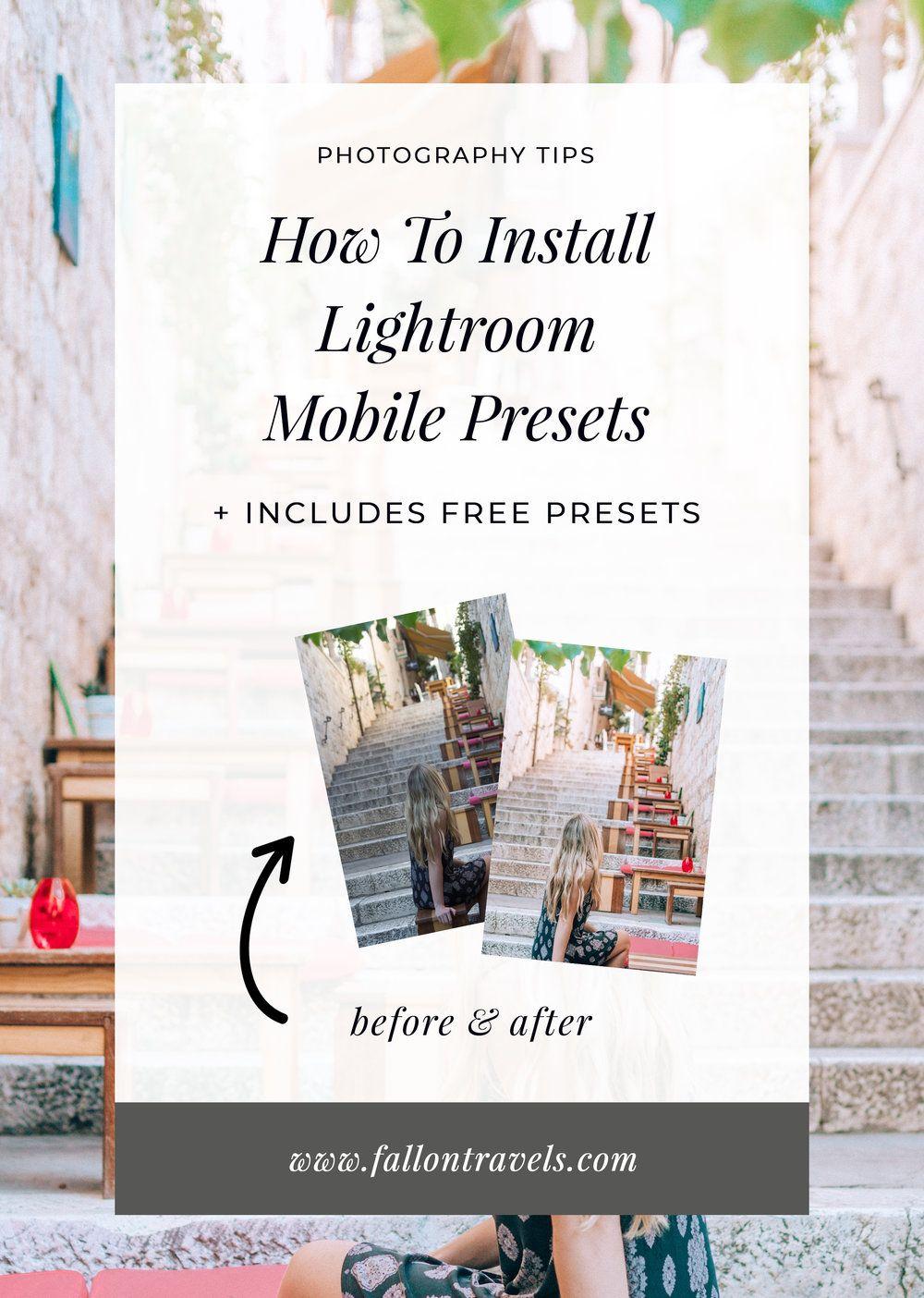 How Do I Add Presets To Lightroom Cc Mobile