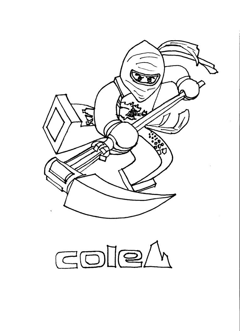 Ausmalbilder Vorlagen Geburtstag : Printable Coloring Book Ninjago Fun With Kids Pinterest