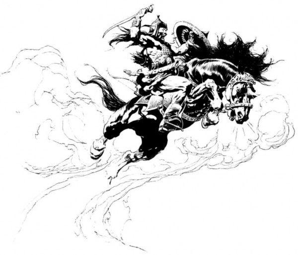 frazetta horse - Google Search | Art Ref. | Pinterest