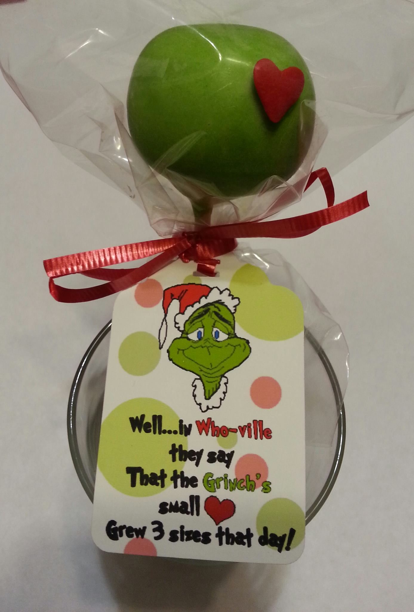 Grinch Cake Pops The Grinch School Holiday Party