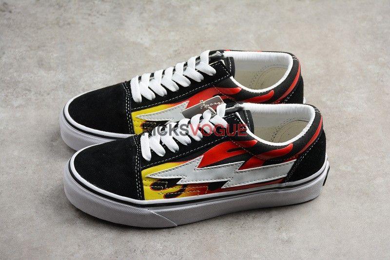 Revenge X Storm Ii Vol 1 Black Flame Vans Old Skool Sneaker Vans Sneaker Vans