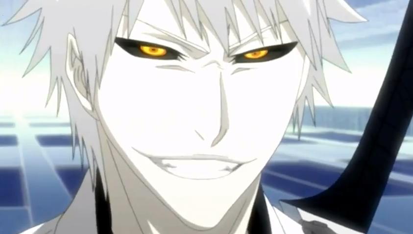 Hichigo Shirosaki Photo Evil Smile Bleach Anime Bleach Art Bleach Characters