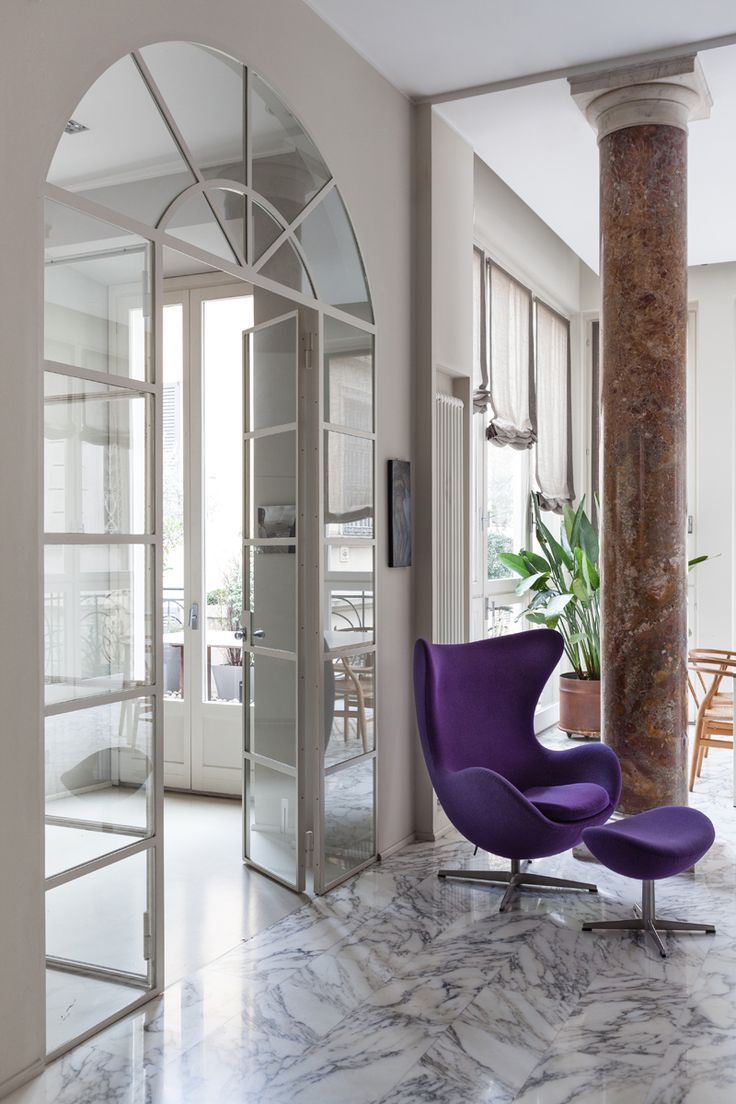Egg Chair Di Arne Jacobsen Project Francesca Cutini