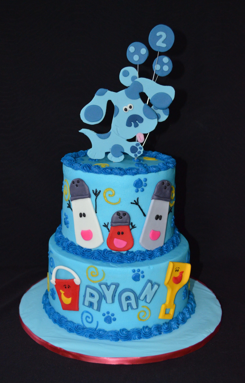 Blues Clues Cake Birthday Cake Kids Birthday Cake Kids Girls