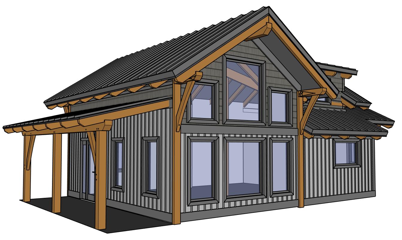 Designing Our Remote Alaska Lake Cabin Ana White