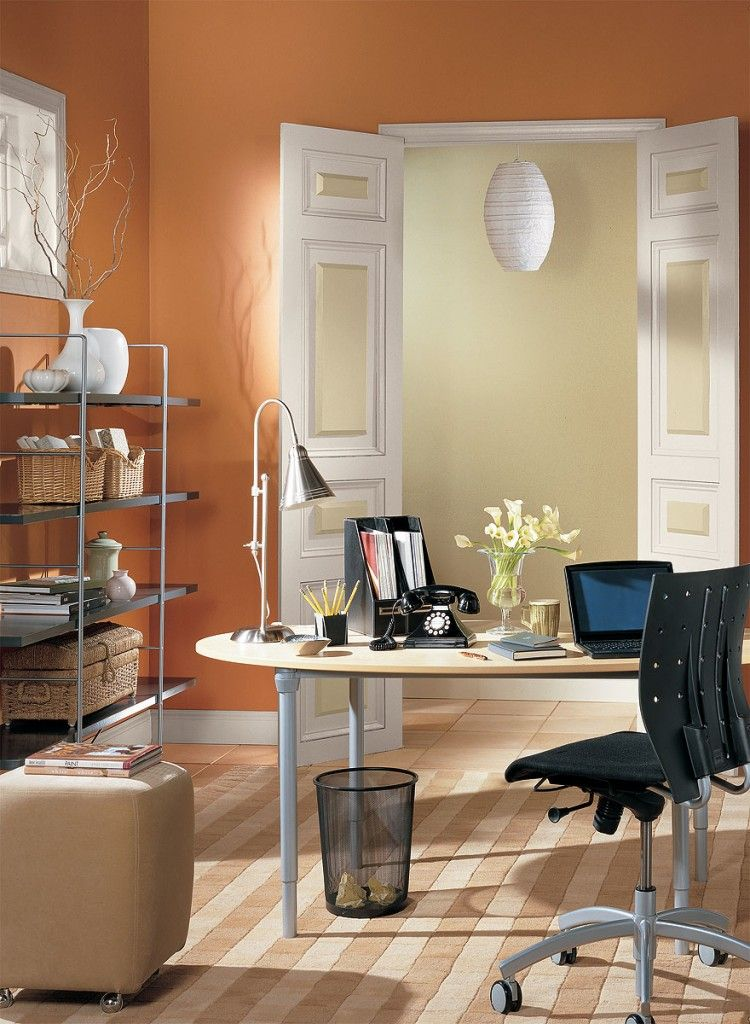 interior paint ideas and inspiration yellow home offices on house paint interior color ideas id=61920