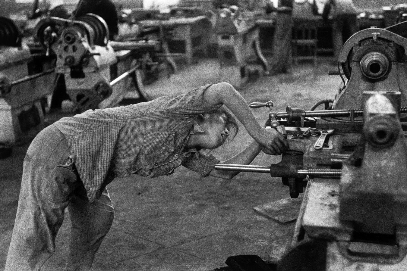Henri Cartier-Bresson, The Great Leap Forward, China, 1958