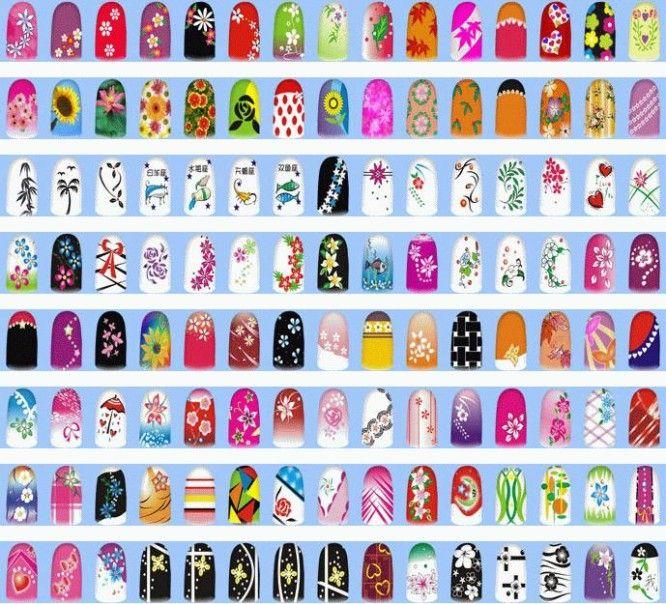 Sample Nail Art Designs | Nail Art | Pinterest | Nail stuff, Simple ...