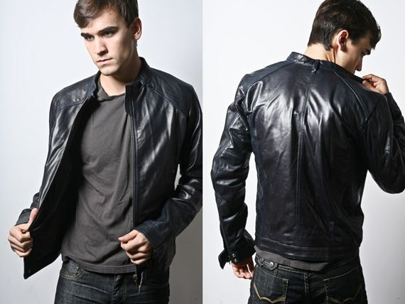 Leather Jackets For Men Span Genres - Fashion and Lifestyle Trends for Men  & Women