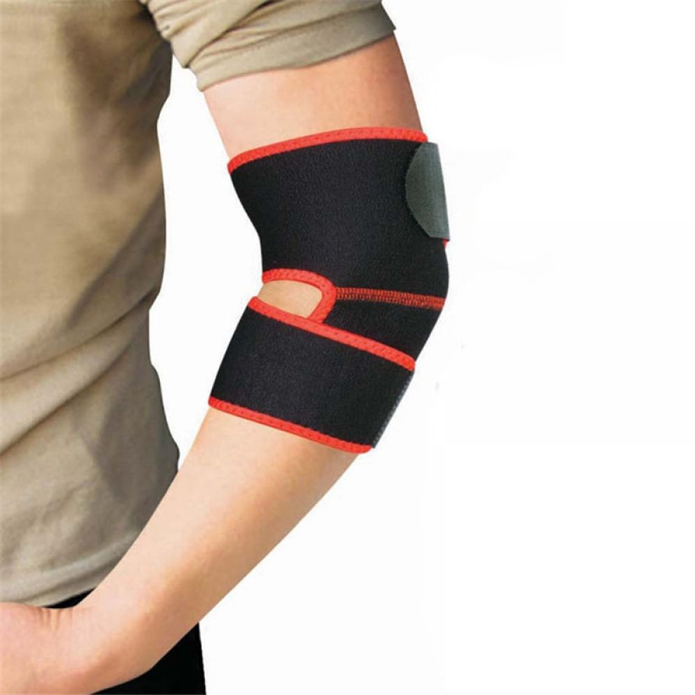 Adjustable Breathable Durable Elbow Bandage In 2020 Elbow Pads Arm Band Knee Wraps