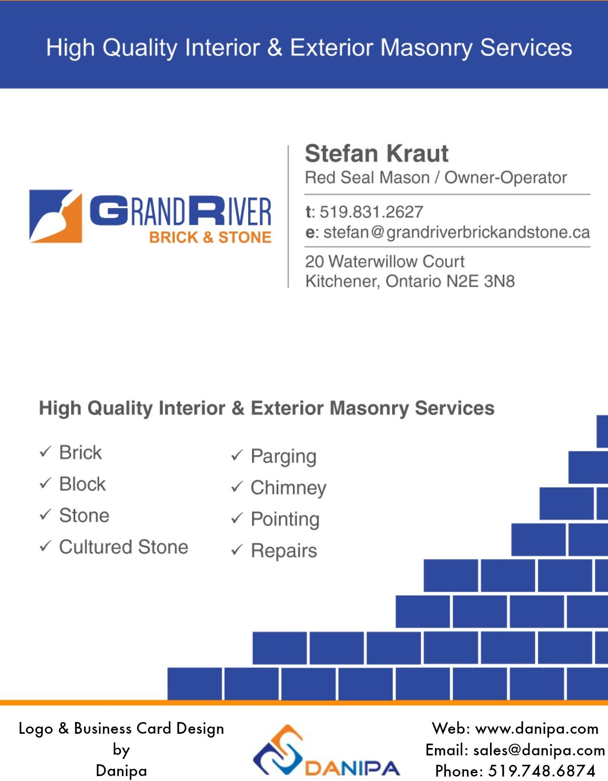 Logo Design and Business Card Design for a new business in Kitchener ...
