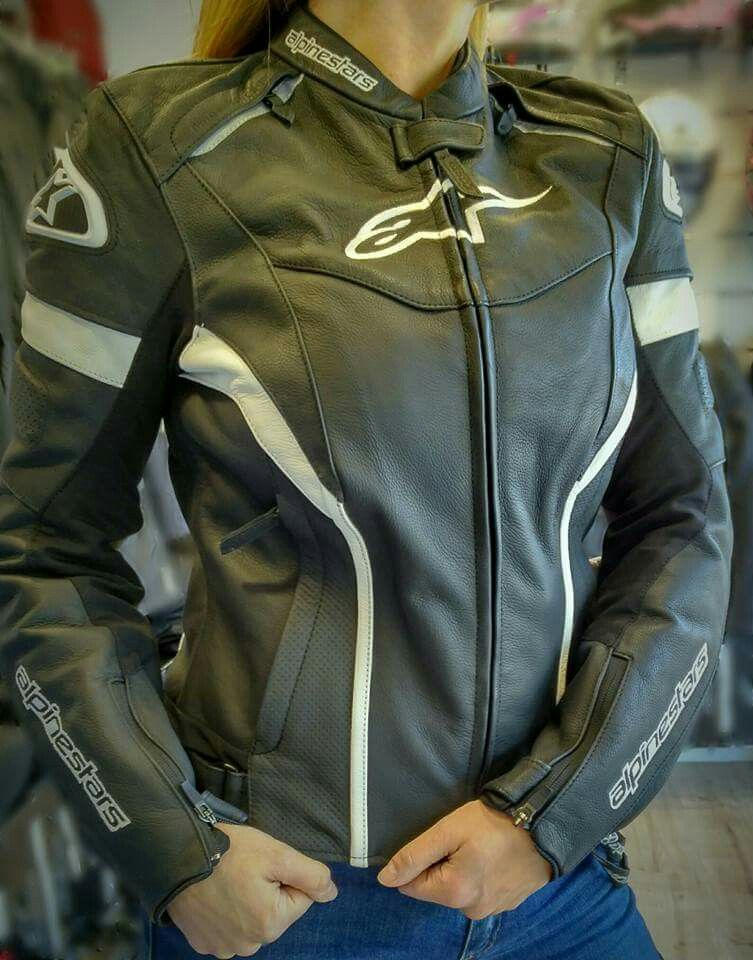 Alpinestars Stella GP Plus R leather jacket en WBZ  2a2d01fbd9a4d