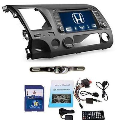 Us 7 Honda Civic 2007 2008 2009 2010 2011 Car Gps Nav Stereo Dvd Player Camera Honda Civic Honda Civic Accessories Honda Civic Coupe