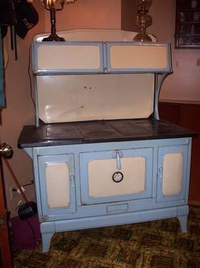 Kalamazoo Wood Cook Stove Wood Stove Cooking Antique Wood Stove