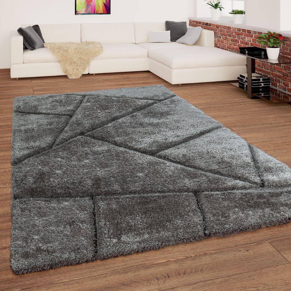 Hochflor Teppich Muster Grau Anthrazit Vornehm Wie Edler Steinboden Und Trotzdem Samtig Weich Lassen Sie Sich Von Der No Teppich Grau Teppich Grosse Teppiche