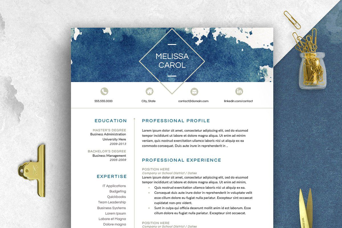 modern resume template word (с изображениями) receptionist objectives examples free download professional cv format in ms summary for graphic designer