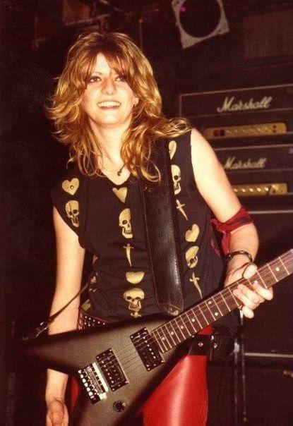 Bandit Inspiration– GIRLSCHOOL/Kelly Johnson   Female guitarist, Female musicians, Women of rock