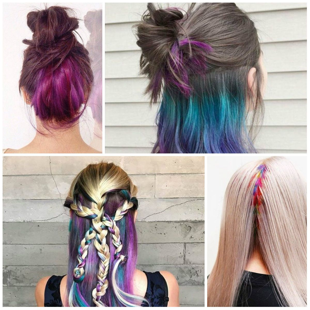 Lighter Hair Color Underneath Best Hair Color Inspiration 2018