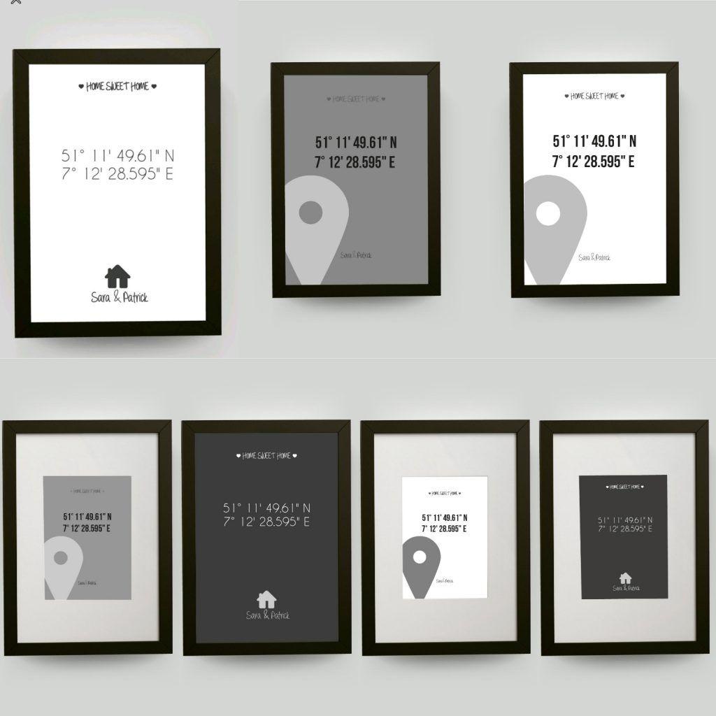 jetzt auch mit schwarzen bilderrahmen 321geschenke. Black Bedroom Furniture Sets. Home Design Ideas