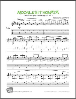 Romanza guitar tab pdf format