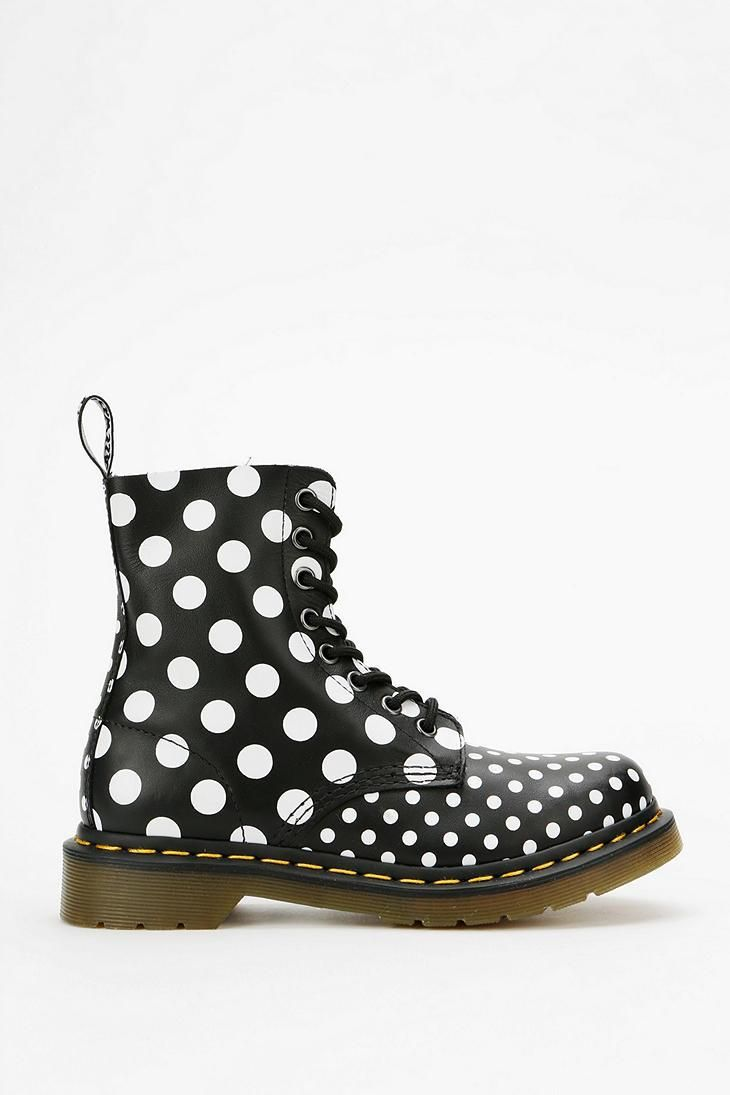 Dr. Martens Dots & Spots 8-Eye Boot #urbanoutfitters
