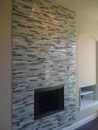 glass tile fireplace designs. Floor To Ceiling Glass Tile Fireplace Surround  Fireplaces