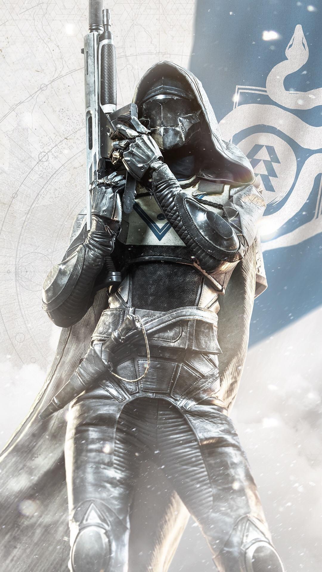 Destiny 2 Hunter Smartphone Wallpaper Destiny Backgrounds Destiny Hunter Destiny Game