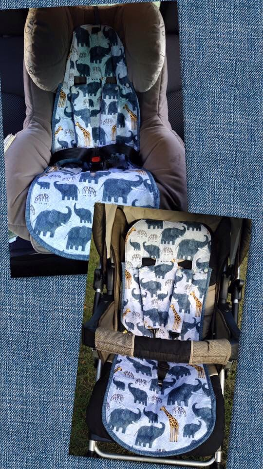Luxury Padded Stroller Seat Liner Universal Fit For Many Strollers