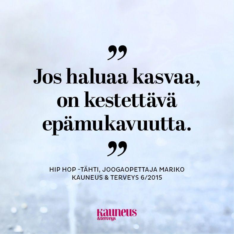 Mariko Kauneus & Terveys -lehdessä