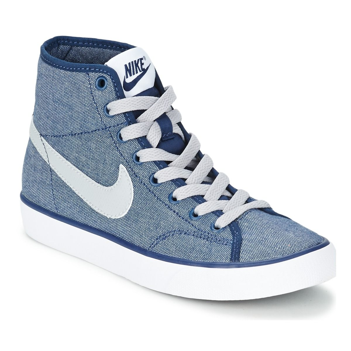 Trends For > Nike Shoes For Girls High Tops Black And ...