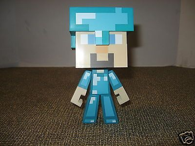 "Minecraft 6"" Steve Figure Wearing Diamond Armor - Removable Helmet https://t.co/BEshuZvCfy https://t.co/6emiz30gOv"