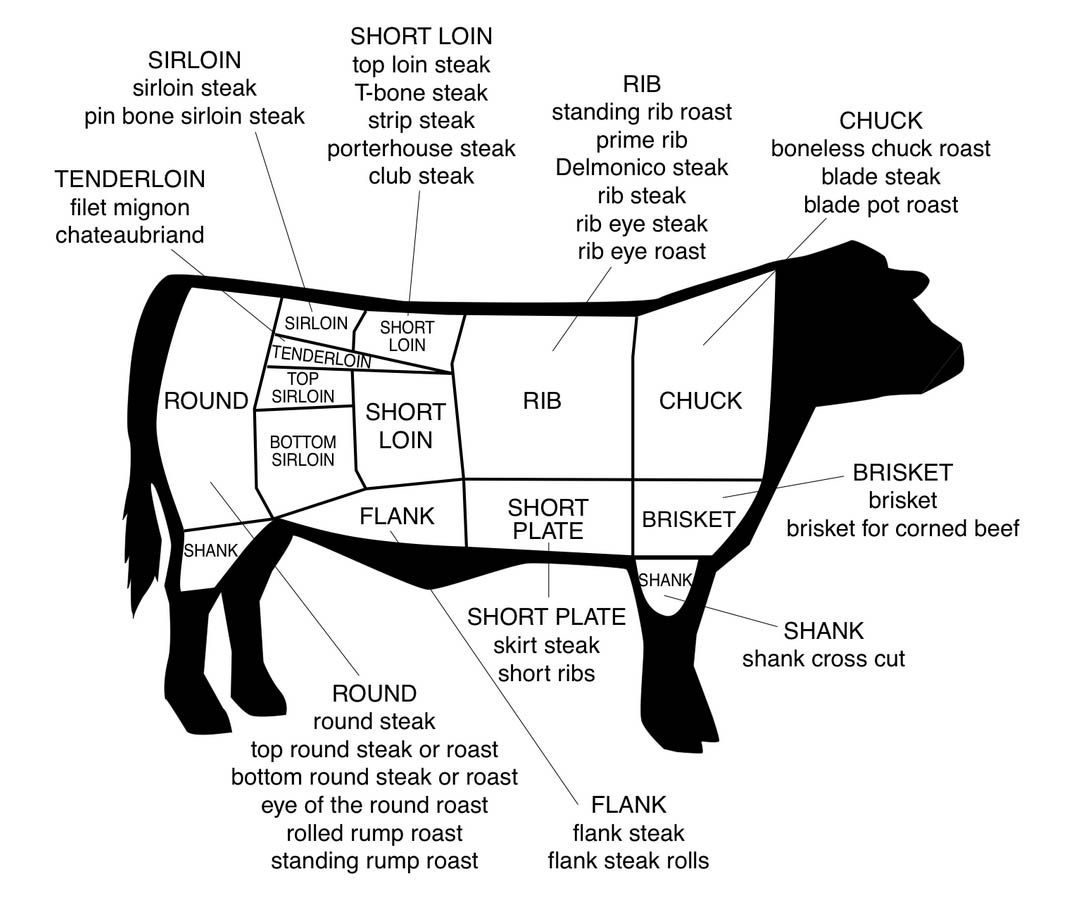 beef meat diagram subaru outback wiring for cuts of cooking baking tips