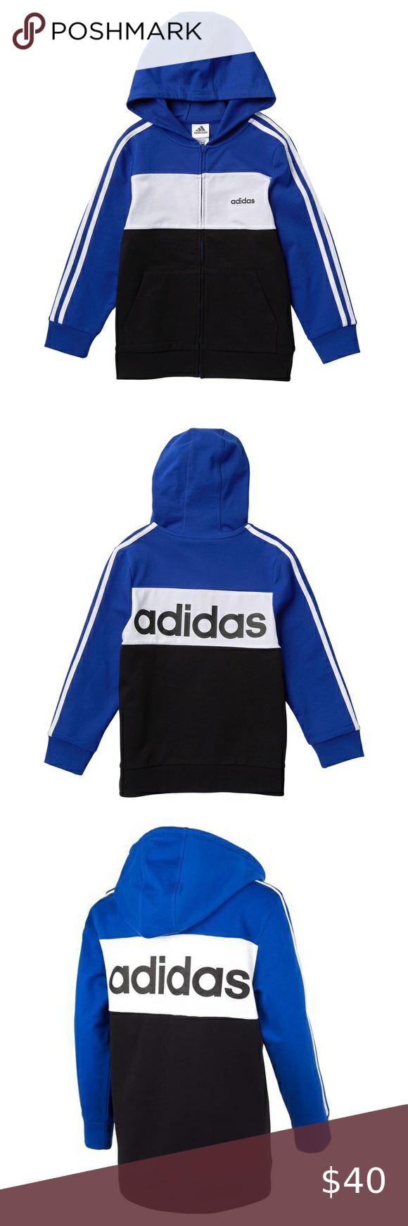Nwt Adidas Colorblock Hoodie Girls Sweatshirts Hoodie Adidas Fleece Hoodie Grey Adidas Hoodie [ 1740 x 580 Pixel ]