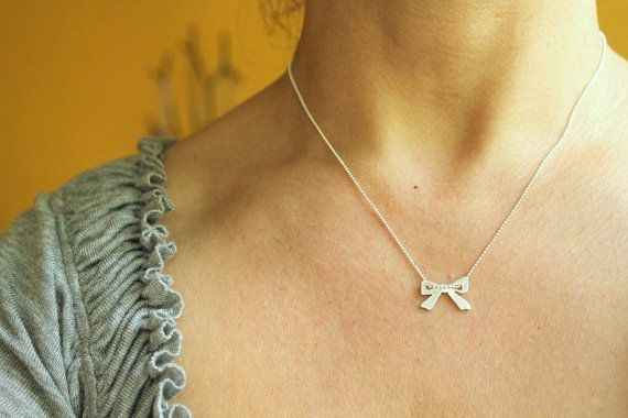 I Have a Gift Necklace in Sterling Silver by meltemsem on Etsy, $25.00