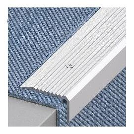 Best Aluminium Stair Edge Nosings Step Edging For Carpet 400 x 300