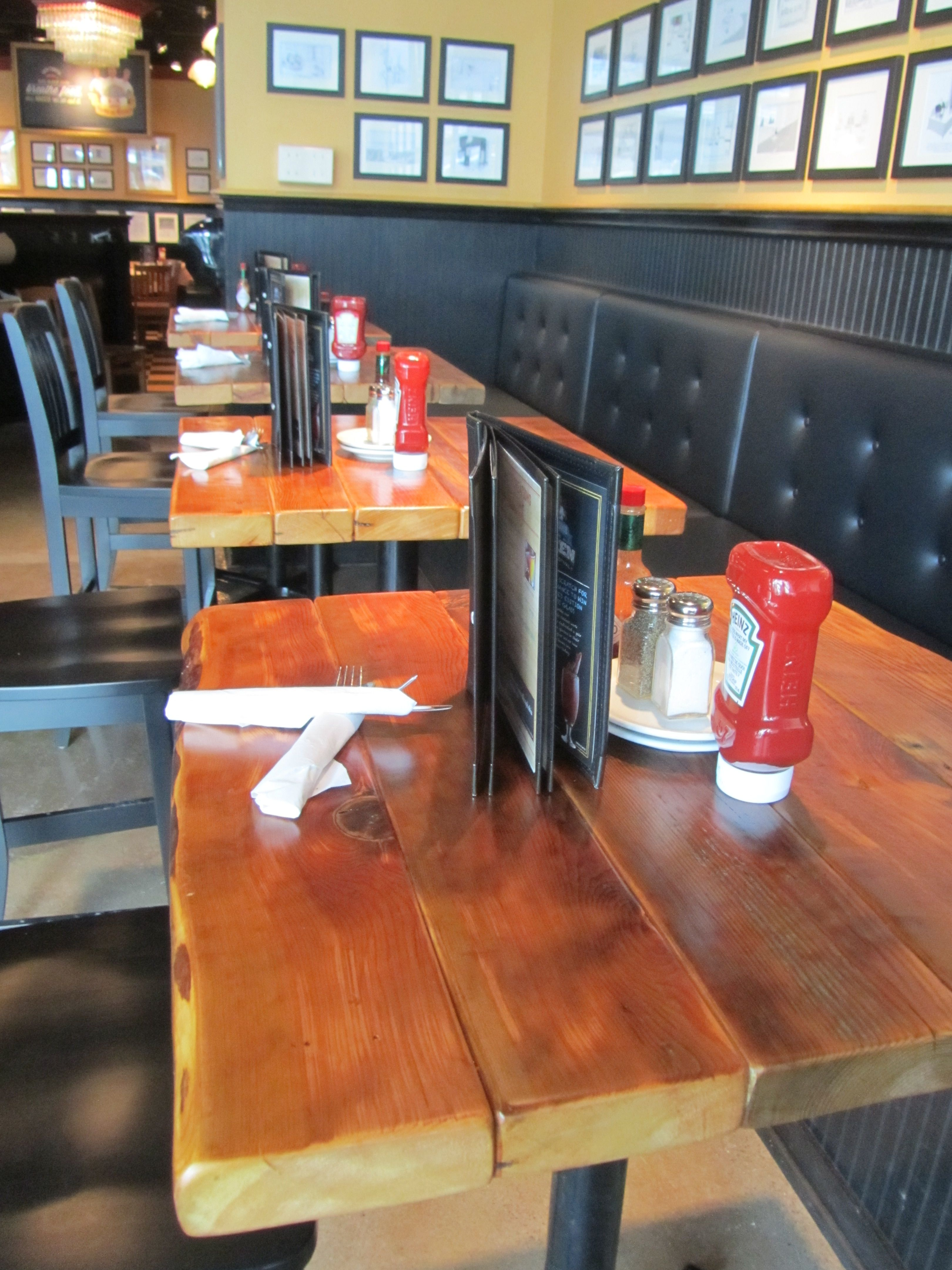 Restaurant Table Tops Reclaimed Wood Plank Pedestal Tops - Reclaimed wood restaurant table tops