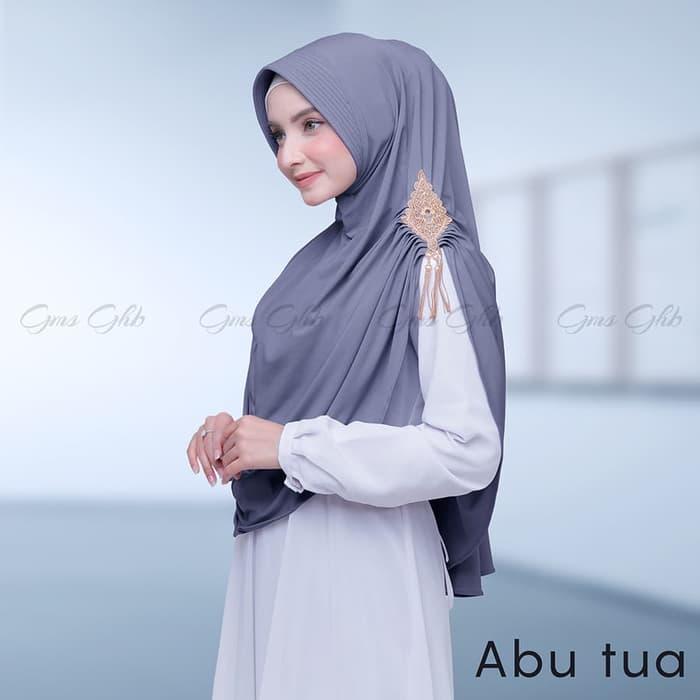 Hijab Syar'i Bergo Renda Zerin Model Terbaru 2019 Jilbab