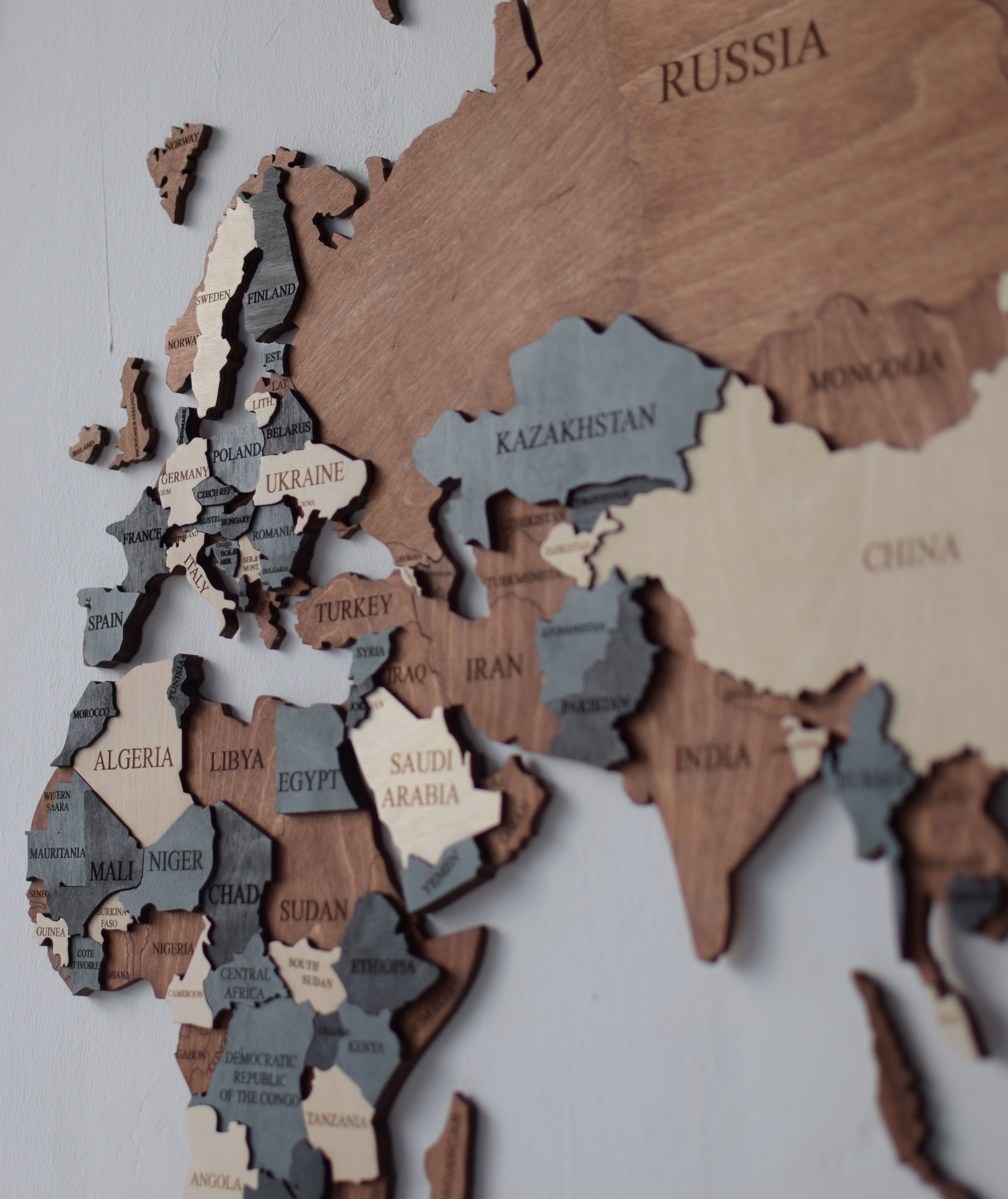 Wood Map Wood Wall Art Wooden Map Wood World Map Rustic World Map