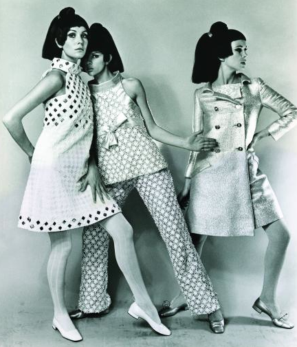 Courreges style dresses