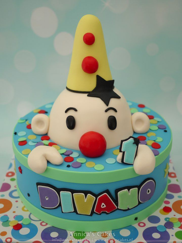 Bumba kiekeboe taart fancy karakter cake Pinterest Cake Food