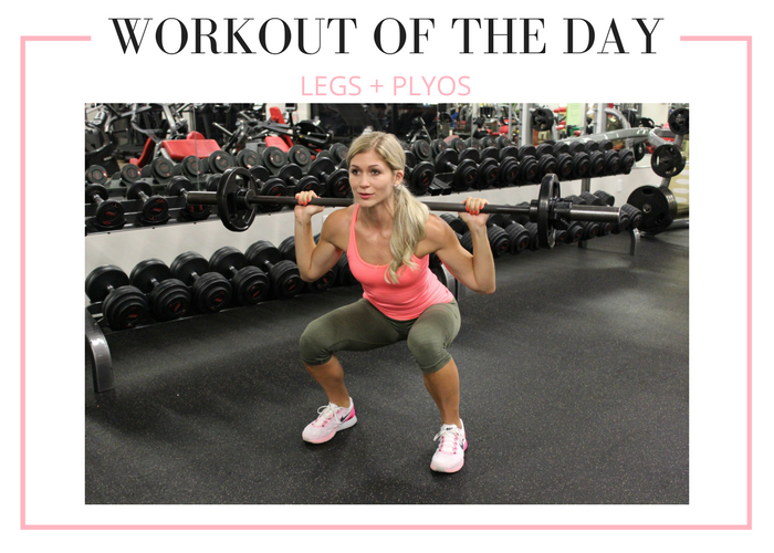 Weighted Legs Plyometrics Workout Lauren Gleisberg Leg Workout Plyometric Workout Workout