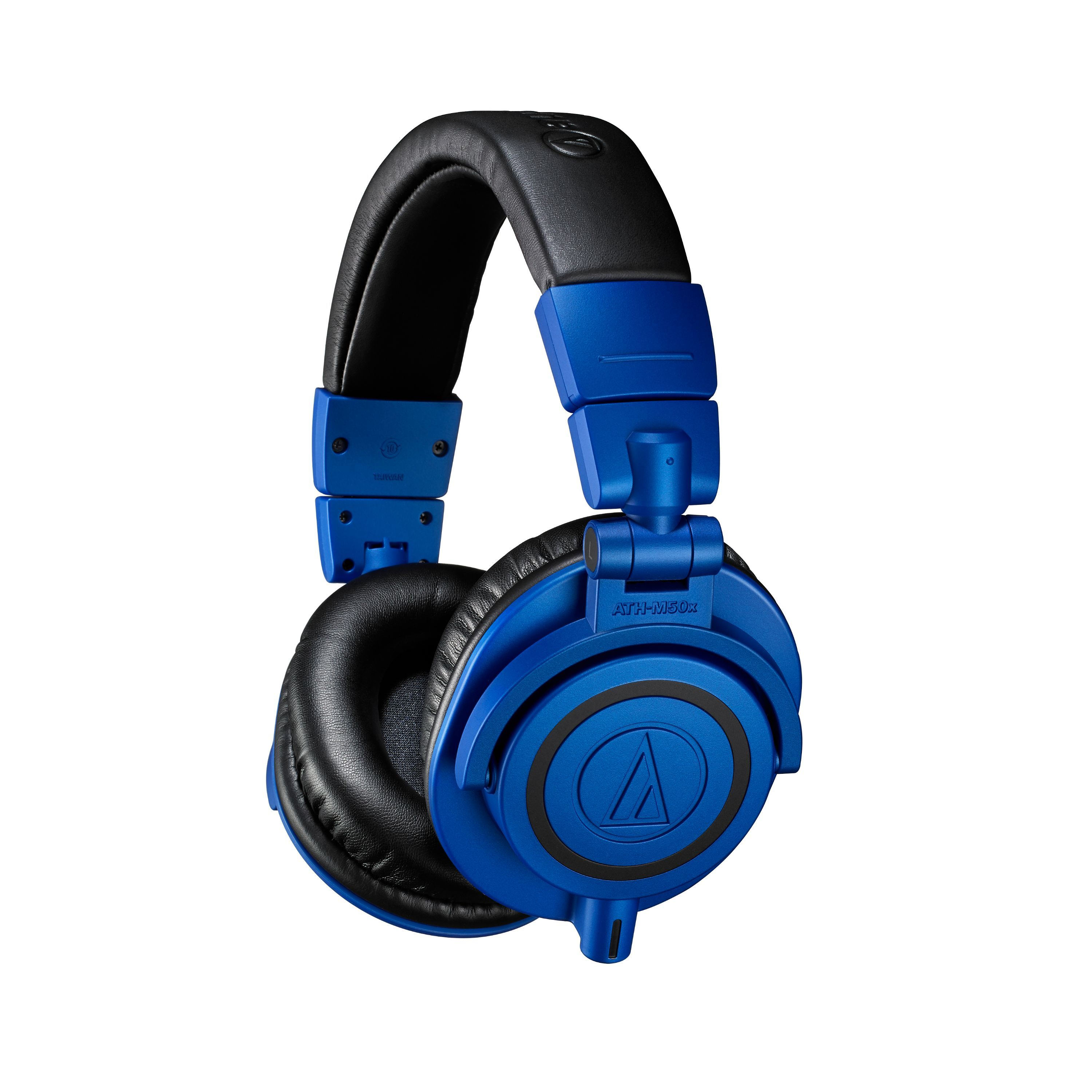 Audio-Technica ATH-M50X Pro Monitor Headphones in Limited Edition Blue & Black - Andertons Music Co. #audioheadphones